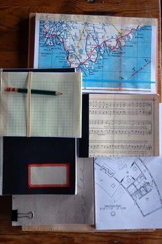 DIY PROJECT: RECYCLED SCRAP PAPER NOTEBOOKS... great idea.
