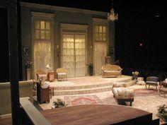Philadelphia Story Set Design Theatre, Prop Design, Stage Design, Design Ideas, The Philadelphia Story, Vintage Hotels, Stage Set, Scenic Design, Design Elements