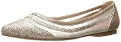 Amazon.com | Betsey Johnson Women's Annette Pointed Toe Flat | Flats