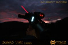 "Starwars The ""BEAST"" Stormtrooper Blaster with BlastFX Sound & Light and Laser (Laser could be disabled in the Menu from the Blaster Electronic for COSPLAY Modus! E 11 Blaster, Laser Laser, Starwars, Beast, Menu, Darth Vader, Cosplay, Fictional Characters, Menu Board Design"