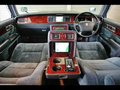 Interior Toyota Century VIP MONSTER