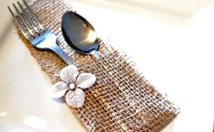 Chic creations made from burlap