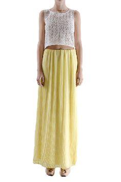 Maraveya - Geranium Skirt - Yellow