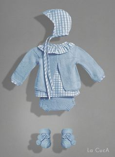 Little boy blue 👶🏼 Knitting For Kids, Baby Knitting, Crochet Baby, Cute Outfits For Kids, Baby Boy Outfits, Couture Bb, Baby Cardigan, Baby Sewing, Little Boy Blue