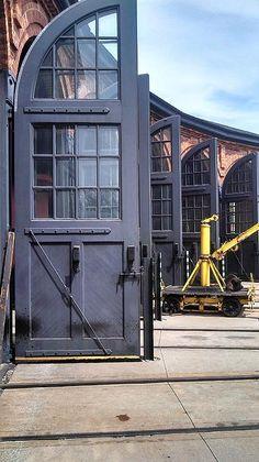 Roundhouse doors @ Greenfield Village in Dearborn, Michigan.  Member