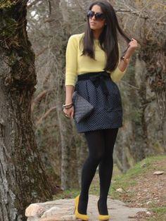 mariatrschic Outfit   Invierno 2011. Cómo vestirse y combinar según mariatrschic el 7-5-2012
