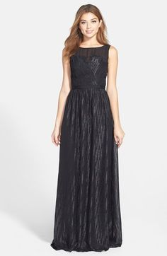 ERIN erin fetherston Chiffon Gown available at #Nordstrom