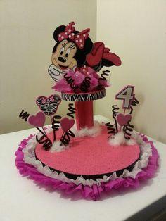 Chupetera de Minnie Mouse Animal Print