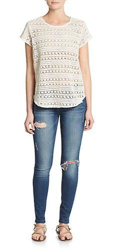 16ef4fbe5a635d Joie - Dalliance Crochet Top