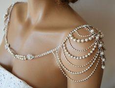 Wedding Dress Shoulder Wedding Dress Accessory Bridal by ADbrdal