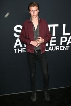 Saint Laurent's L.A. Palladium Show Front Row Was As Just Stylish As Y | GQ