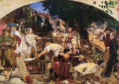 Ford Madox Brown -  Work, 1852-63