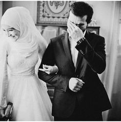 Nothing Better than Halal Love Hijabi Wedding, Muslimah Wedding Dress, Muslim Wedding Dresses, Muslim Brides, Muslim Women, Wedding Poses, Wedding Couples, Cute Muslim Couples, Romantic Couples