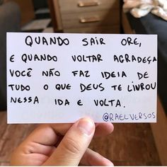 """PALAVRA  PARA  HOJE™ on Instagram: """"Recomendo @portal_gospel_ofc"""" Thoughts And Feelings, More Than Words, God Is Good, Word Of God, Sentences, Inspirational Quotes, Positivity, Faith, Life"""