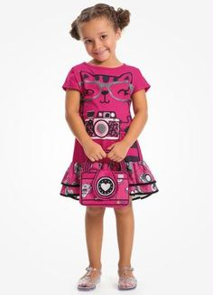 Gostei deste produto do Portal Posthaus! Vestido em Meia Malha com Bolsa Malwee