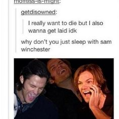 The Supernatural side of Tumblr part 2 - Imgur