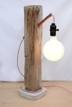 Teds Wood Working - lighting with copper tubing and cement base - Google Search - Get A Lifetime Of Project Ideas & Inspiration!