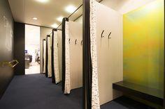 Sheryl Leysner   Interior Architecture & Project Management    De Bijenkorf   Amsterdam   Fitting rooms   Retail   Trend