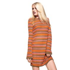 United Colors of Benetton Striped Knit Dress for those cool spring/summer nights.