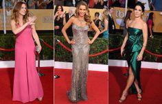 Julia Roberts, Sofía Vergara y Sandra Bullock en los premios del Sindicato de Actores de Hollywood