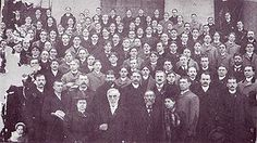 50th Anniversary of Phi Delta Theta with Founders Morrison and Lindley in the fore front. From the 1898 Convention.