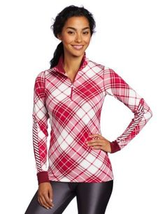 Helly Hansen Women's One New Soft 1/2 Zip Shirt, Red Grape/Check, Medium by Helly Hansen. $46.43. A 2 in 1 baselayer for days on the mountain and evenings at the afterski.