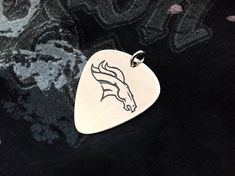 Silver Guitar PickSilver PlectrumGift For DadFathers Day Guitar Picks Personalized, Custom Guitar Picks, Personalized Charms, Gifts For Brother, Gifts For Husband, Gifts For Girls, Guitar Pick Necklace, Rock Necklace, Uncle Gifts
