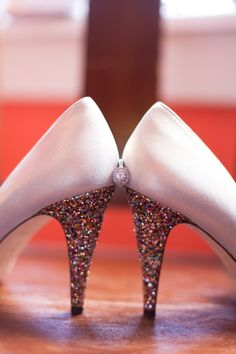 Awesome shoes! // via Every Last Detail, photography by Thompson Photography Group