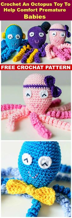 DIY Crochet An Octopus Toy To Help Comfort Premature Babies - Crochet Jellyfish - 14 Free Crochet Patterns - Page 2 of 3 - DIY & Crafts