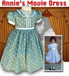 Annie s movie dress custom made to order costumes also available for