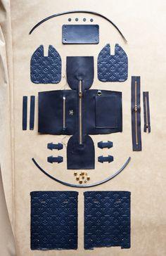Deconstructed: The Anatomy of A LOUIS VUITTON Speedy Handbag