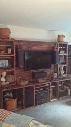 Pallet Entertainment Center …