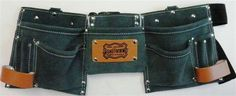 Another great tool belt from Landmark. Hunter green. Now available at all #HomeHardwareStores and Building Centers.