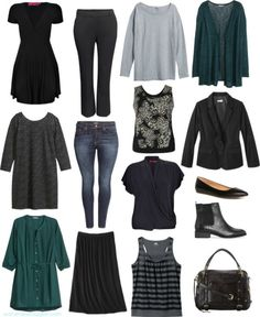 plus size minimalism capsule wardrobe fall winter