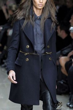 Navy blue coat. Zippers! TheyAllHateUs | Page 3