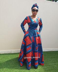 African Print Dresses Nedim Osmanovic designs +27829652653 from Diyanu