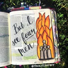 """Then King Nebuchadnezzar was astonished and rose up in haste. He declared to his counselors """"Did we not cast three men bound into the fire?"""" They answered and said to the king """"True O king."""" He answered and said """"But I see four men unbound walking in the midst of the fire and they are not hurt; and the appearance of the fourth is like a son of the gods."""" Daniel 3:24-25 Can you imagine the sight of three people being thrown into a fire and watching them NOT burn into a pile of ash?! Not only…"""