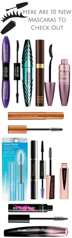 Here Are 10 New Mascaras To Check Out