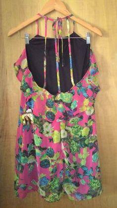 vestido floral de chiffon original rdlay+ brinde