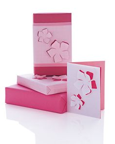 <16 of 21 >  Floral-Cutout Cards  Add a new dimension to cards with these floral cutouts.  Make the Floral-Cutout Cards