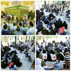 [ 7 Shawwal 1437 ]  Right Now The Atmosphere Inside Al-Askarian Holy Shrine.