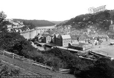 Photo of Looe, From The South 1893 from Francis Frith Looe Cornwall, Devon, Old Photos, Dolores Park, Scenery, England, Train, Sea, Black And White