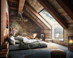 Project by Fernando Morrisoniesko l #Bedroom Design Idea. #d_signers /// Proyecto por Fernando Morrisoniesko. www.dsigners.net
