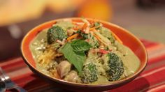 Daphne Oz's Vegetable Green Curry with Buckwheat Noodles and Carrot Salad