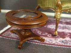 1:6  Scale  MAGAZINE  TABLE  ~ for BARBIE ~ Dollhouse Miniature ~ Furniture~ JBM