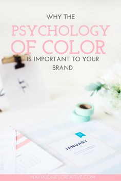 Why the Psychology of Color Is Important To Your Brand by Nakia Jones Creative - Why the Psychology of Color Is Important To Your Brand When you look at a logo or a product, what is the first thing you consider about it? For most people the first factor is color. Although it seems like such a small insignificant detail, each color evokes certain perceptions and emotions. Before deciding what color you want to represent your brand take a look at what each color signifies.