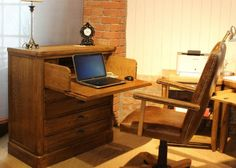 Copeland Chest Desk from George Tannahill & Sons