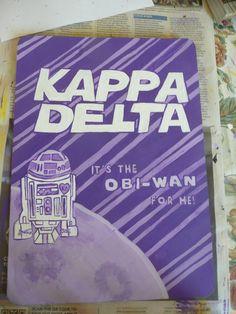 Kappa Delta- new member clipboard