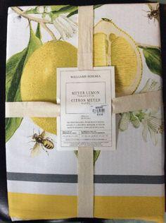 Meyer Lemon Tablecloth, 70 | Sidrunist Mitut Moodi ;) | Pinterest | Lemon,  Kitchens And House