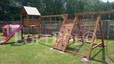 Plac Zabaw drewniany - India - transport-montaż Częstochowa - image 1